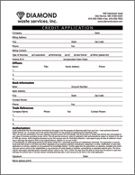 credit application for rental